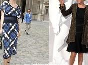 Thurman causa sensación Semana Moda París impecables estilismos