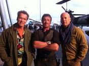 Primera foto Schwarzenegger, Stallone Willis 'The Expendables