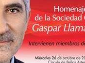 Homenaje Gaspar Llamazares