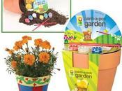 Macetas infantiles para pintar plantar