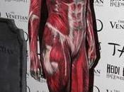 Heidi Klum sorprende estremece impresionante disfraz Halloween Vegas