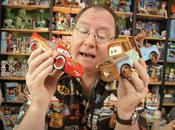 John Lasseter tiene estrella Paseo Fama