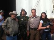 Foto Arnold Schwarzenegger rodaje 'The Last Stand'