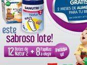 Alimentación gratis durante meses para bebé Sanutri