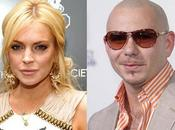 Pitbull contrademandó Lohan
