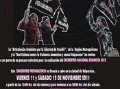 Este viernes sábado noviembre comienza Pre-encuentro Feminista, Valparaíso 2011 (Revisa Programa Alojamiento)