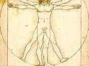 Leonardo Vinci. hombre Vitruvio.