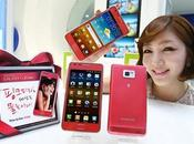 Samsung Galaxy viste rosa