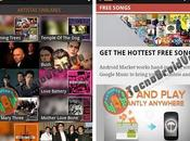 Primeras imágenes Google Music Store