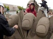 Increibles esculturas arena