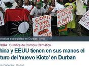 Cumbre sobre Cambio Climático Durban