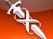 """mejor juego para terminales moviles """"Infinity Blade ahora iPad iPhone"""