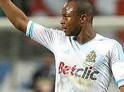 goles Ayew victoria Marsella Caen( 1-2)