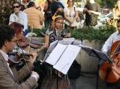 Música, arte gastronomía conviven Paseo Palos Grandes