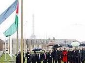 Izamiento bandera UNESCO: Palestina, tierra donde encontraron civilizaciones, vuelve renacer