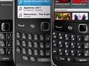 Aplicación Spotify para BlackBerry sale beta