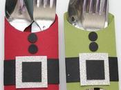 ¿cómo decorar mesa navidad?: cubiertos
