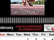 Breaking Down Limits presenta Calendario 2012 PhotoSport Gallery beneficio Fundació Sant Joan para ayuda investigación Síndrome Rett Segunda entrega Febrero