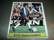 antigua historia sobre rivalidad entre F.C.Barcelona R.C.D.Espanyol: Canito