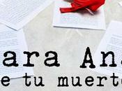 'Para muerto)', nuevo libro Nuria Roca