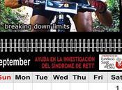 Breaking Down Limits presenta Calendario 2012 PhotoSport Gallery beneficio Fundació Sant Joan para ayuda investigación Síndrome Rett Novena entrega: Septiembre