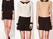 Catálogo Zara 2012: Blusas Blazers