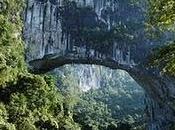 puente natural grande Tierra China