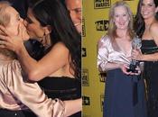 Meryl Streep juega besos Ellen DeGeneres