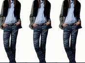 Pantalón tejido efecto