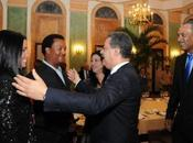 Presidente Fernández cena peloteros