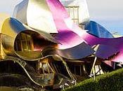 vino diseño Frank Gehry Marqués Riscal