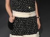 """Front Chanel Alta Costura, exhibición girls"""" blanco negro"""