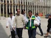 Supervisa Daniel Karam obras hospitalarias Chiapas