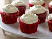 Cupcakes Veltet frosting queso crema