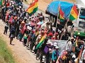 Llega Marcha CONISUR instala debate sobre Corta TIPNIS Bolivia