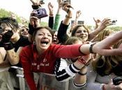 Fans fanáticos grandes artistas