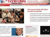 Eventos Feria Libro Buenos Aires está marcha