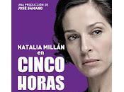 Teatro: Cinco horas Mario, Natalia Millán
