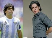 Benicio Toro estudia vida Maradona