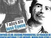 Siete años José Couso