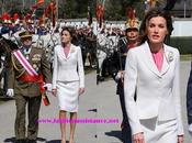 Dña. Letizia, preside jura bandera Guardia Real. Princess Letizia attends Royal Guards flag ceremony