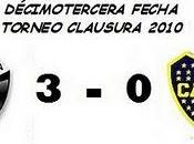 Colón:3 Boca Juniors:0 (13° Fecha)