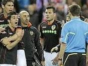 árbitro acaba sueño europeo Valencia