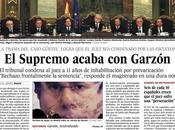 GARZON juez; sido expulsado condenado prevaricación