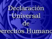 """suscribimos """"Declaración Universal derechos humanos"""""""