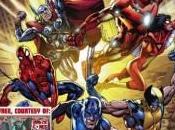 Portada cómic Marvel para Free Comic Book