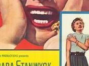 "Patologías vecindario: ""Crime passion"" tres noche Barbara Stanwyck"