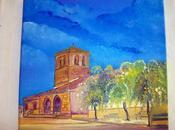 Oleo: iglesia santiago