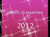 Desafío libros español durante 2012
