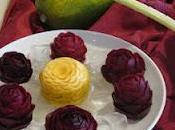 Arte Mukimono Frutas Vegetales